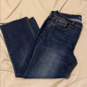 Old Navy mid-rise flare jeans. Size 12